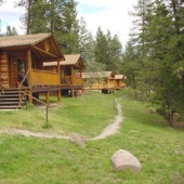 cabins-row